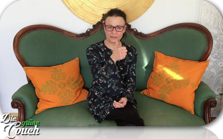 Die grüne Couch: Mein neues Video-Format