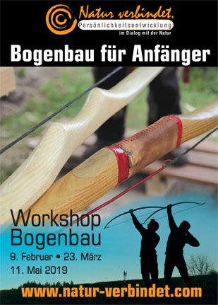 Workshops Bogenbau für Anfänger