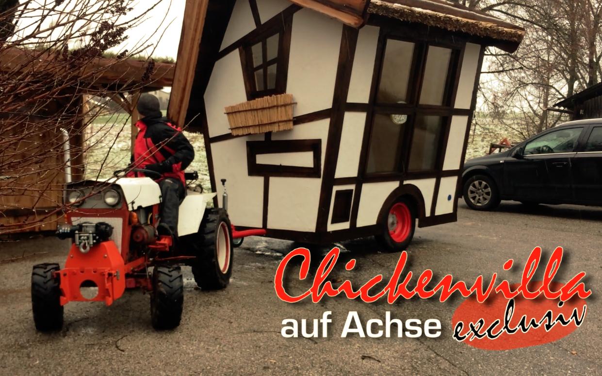 Exclusiv: Mobiler Hühnerstall der besonderen Art!